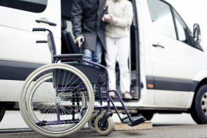 Dallas ADA Vehicle Transportation, Senior Van, Handicap, airport shuttle bus, charter, tours, birthday, anniversary, discount
